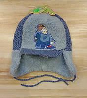Зимняя шапка детская для мальчика