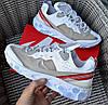 Мужские кроссовки Nike React Element 'White'демисезонные осень весна. Живое фото. Топ реплика ААА+