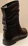 Сапожки женские кожаные от производителя модель ДС8343, фото 3