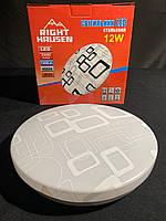 Потолочный светодиодный светильник 12 ват, фото 1