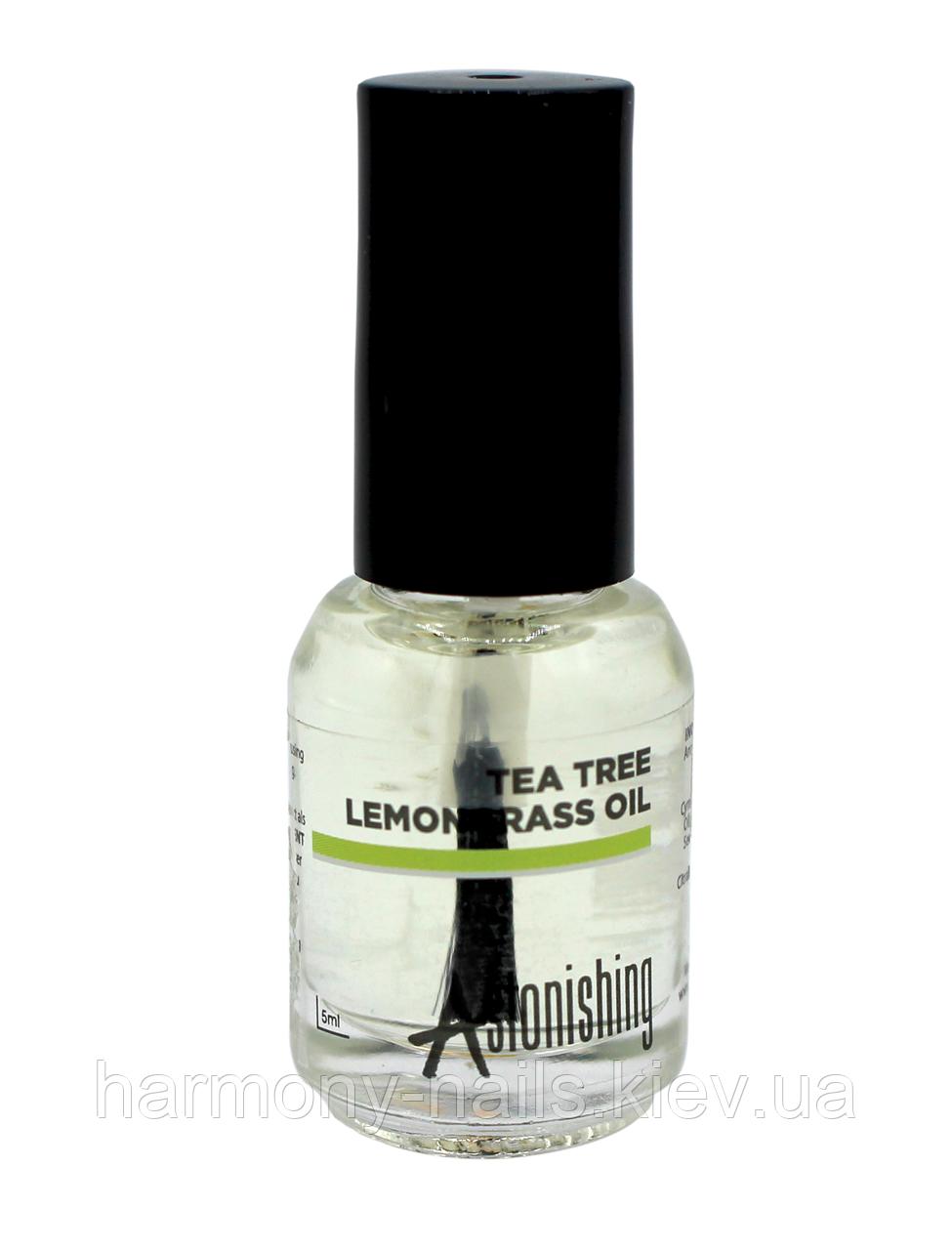 Astonishing Tea Tree Lemongrass Oil, 5ml - масло чайного дерева и лимонной травы.