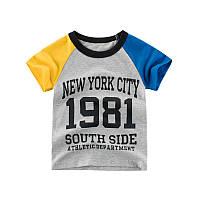 Футболка для мальчика Нью-Йорк 27 KIDS (90)