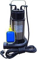 Насос фекальный с режущим механизмом Cristal V1300DF 1.3 кВт  + поплавок