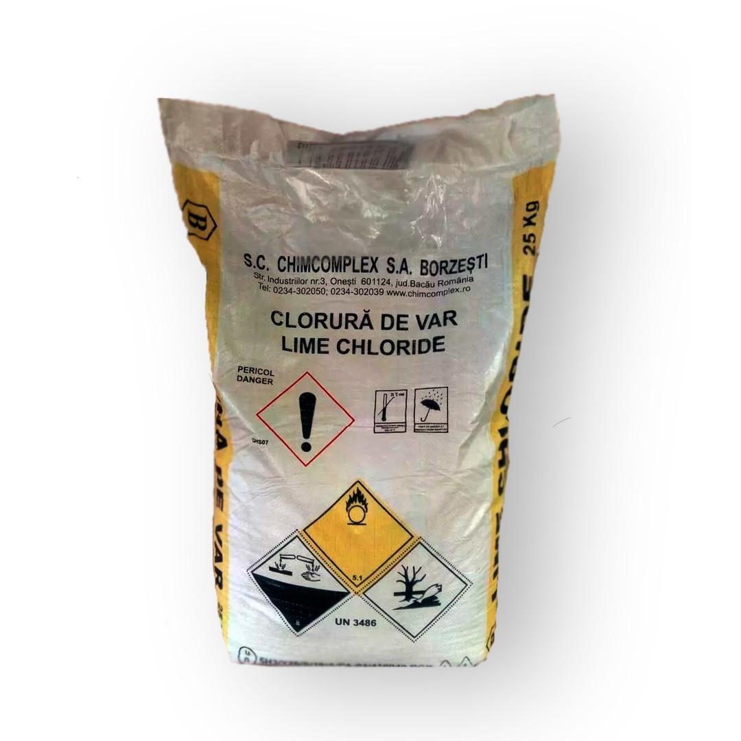 Известь хлорная 1 сорт (Болгария), хлорка, гипохлорит кальция 20 кг