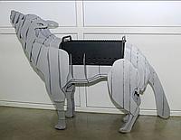 """Мангал """"Вовк"""" (BBQ Deer 3D) Розбірний"""