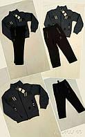 Теплый спортивный костюм для мальчиков на байке размеры: 92, 98, 104, 110, 116