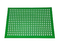 Ковер резиновый ячеистый грязезащитный Примаринг-К 12 мм 61х91 см зеленый с кантом