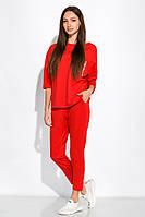 Спортивный костюм с укороченными брюками 151P002 (Красный)