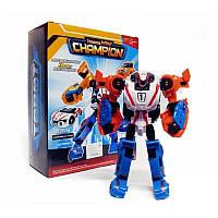 Робот-трансформер Тобот Тритан Чемпион Champion 3 в 1