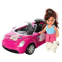 Лялька з машинкою і собачкою