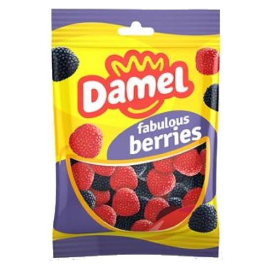 Желейні цукерки Damel Fabulous Berries без глютену 100 г Іспанія