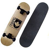 Скейтборд деревянный трюковий с восьми слоев канадского клена Canadian maple 1308