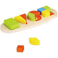 Геометрика сортер пирамидка веселые формочки Top Bright 8788