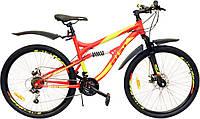 Велосипед  AIST AVATAR 26'' Disc AMT горный двухподвес, фото 1