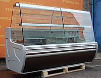 Кондитерская холодильная витрина «Cold C-20G», (Польша), мраморная столешница, Б/у, фото 1