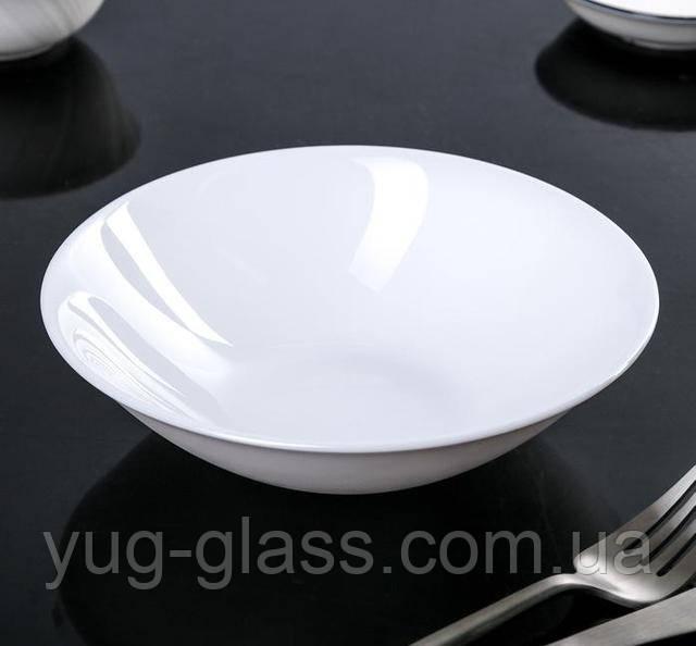 салатник 16 см белый