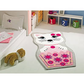Коврик в детскую комнату Confetti Kitty 80*150 розовый