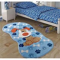 Коврик в детскую комнату Confetti Snopy 80*150 голубой