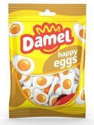 Желейные конфеты Damel Happy Eggs без глютена 100 г Испания