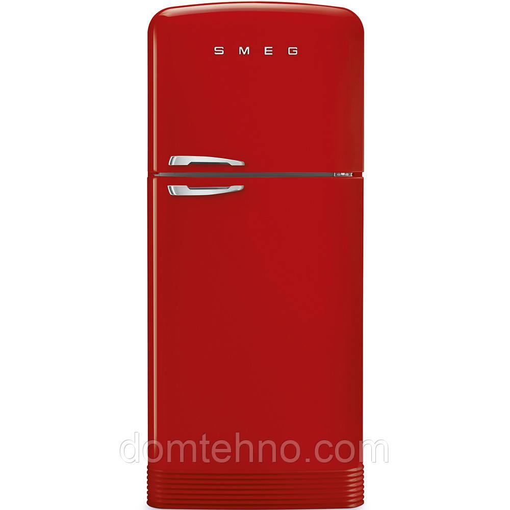 Холодильник з морозильною камерою SMEG FAB50RRD