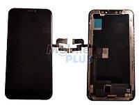 Дисплей для Apple iPhone X, iPhone 10 (HEX) с сенсорным экраном, Black
