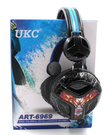 Наушники UKC E001 (игровые, с микрофоном)