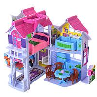 Іграшковий будиночок з меблями