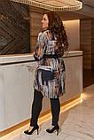 Женский костюм туника и лосины размер батальный: 50-52, 54-56, 58-60, фото 4