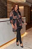Женский костюм туника и лосины размер батальный: 50-52, 54-56, 58-60, фото 2