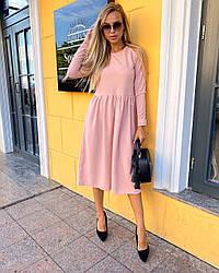 Сукня якісне молодіжне з креп-дайвінгу