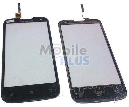 Сенсорный экран (тачскрин) для Lenovo A830 black