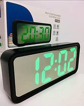 Настільний годинник електронні VST-6508L GREEN (100 шт/ящ)