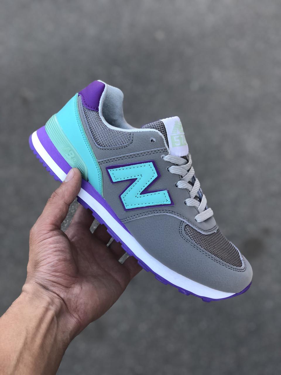 Жіночі кросівки New Balance 574 код 1845
