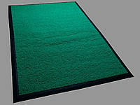 Ковер грязезащитный петлевой Moss зеленый С резиновым кантом, 40х60см.