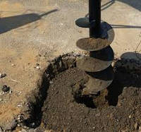 Услуги по бурению отверстий-ям в грунте-земле, фото 1