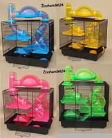 Клетка для грызунов и хомяков Inter-zoo Teddy Lux 1 - Rocky + Terrace. Размер - Клетка для грызунов и хомяков Inter-zoo Teddy Lux 1 - Rocky + Terrace.