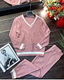 Костюм женский стильный вязаный размер универсальный 42-48 купить оптом со склада 7км Одесса, фото 3