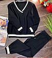 Костюм женский стильный вязаный размер универсальный 42-48 купить оптом со склада 7км Одесса, фото 5