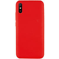 Чехол Silicone Cover Full without Logo (A) для Xiaomi Redmi 9A Красный / Red