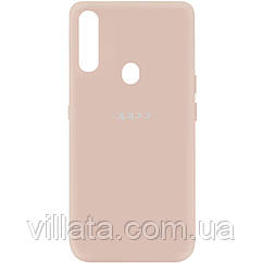 Чехол Silicone Cover My Color Full Protective (A) для Oppo A31 Розовый / Pink Sand