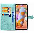 Кожаный чехол (книжка) Art Case с визитницей для Samsung Galaxy A11 / M11, фото 4