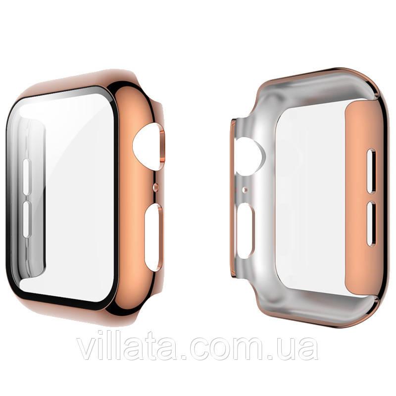 Чехол с защитным стеклом для Apple Watch 44mm BP ATC