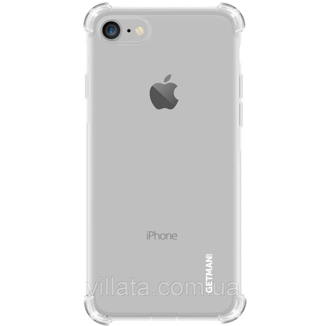 "TPU чехол GETMAN Ease logo усиленные углы для Apple iPhone 7 / 8 / SE(2020) (4.7"")"
