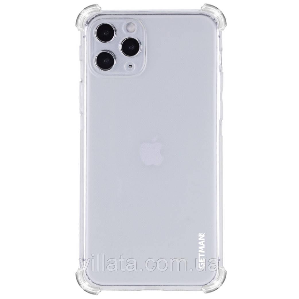 "TPU чехол GETMAN Ease logo усиленные углы для Apple iPhone 11 Pro (5.8"")"