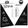 """Захисне скло Shiva 3D для Apple iPhone 11 Pro / X / XS (5.8""""), фото 4"""