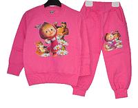 """Костюм детский , утепленный , для девочки """"Маша и Медведь"""" (5-8 лет).Детская одежда оптом."""