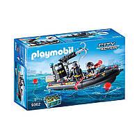 """Игровой набор """"Моторная лодка спецназа"""" Playmobil (4008789093622)"""