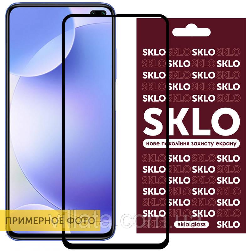 Защитное стекло SKLO 3D (full glue) для Xiaomi Mi 10 Lite