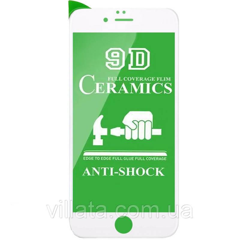 """Захисна плівка Ceramics 9D (без упак.) для Apple iPhone 7 / 8 (4.7"""")"""