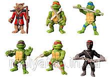Набор фигурок Черепашки-Ниндзя, 5 см - Teenage Mutant Ninja Turtles